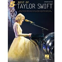 Best of Taylor Swift Updated Edition Sheet Music Five Finger Piano 000234871