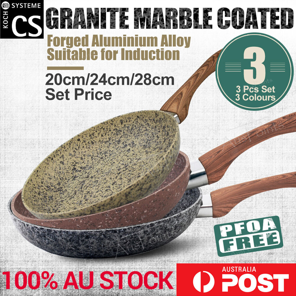 Steinfurt Stone Coated Ceramic Nonstick Aluminium Cookware