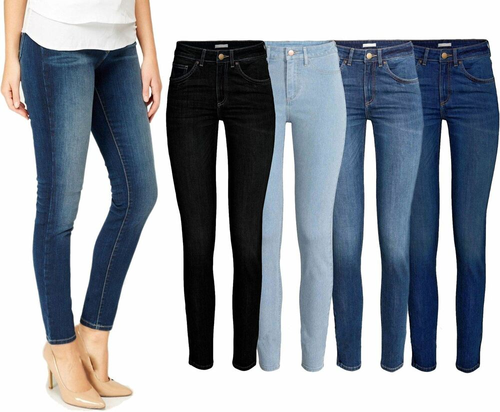 Ladies Jeans ZARA Branded Stretch Trousers Skinny Denim Women Spandex Plus Size | eBay