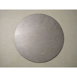 1/8'' Steel Plate, Disc Shaped, 7'' Diameter, .125 A36 Steel, Round, Circle