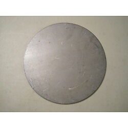 1/8'' Steel Plate, Disc Shaped, 10'' Diameter, .125 A36 Steel, Round, Circle