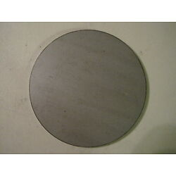 1/4'' Steel Plate, Disc Shaped, 5'' Diameter, .250 A36 Steel, Round, Circle