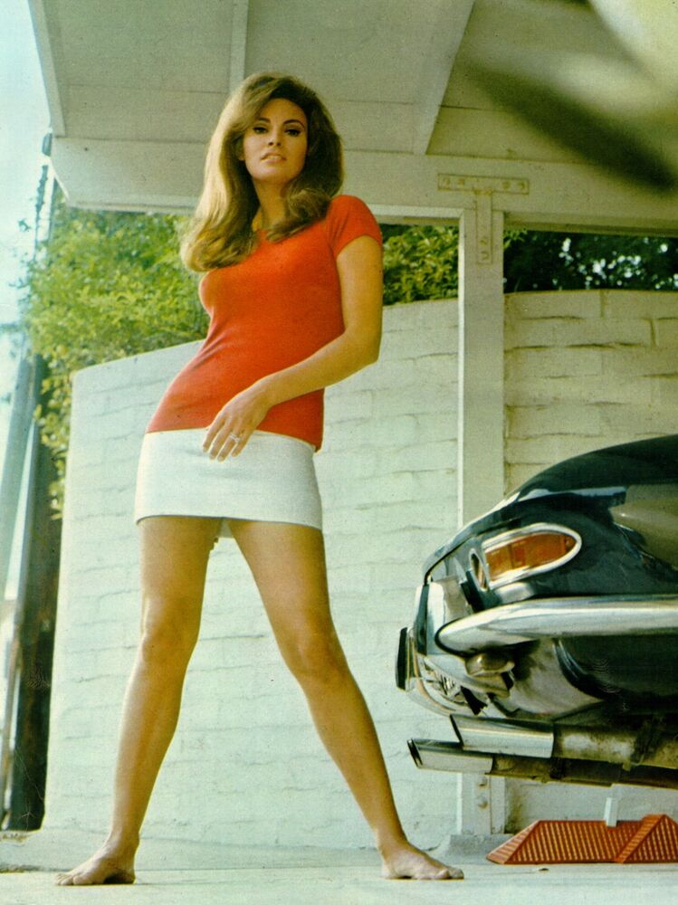 Movie Promo Retro Poster A1A2A3A4Sizes RAQUEL WELCH...1970/'S Sexiest Actress!