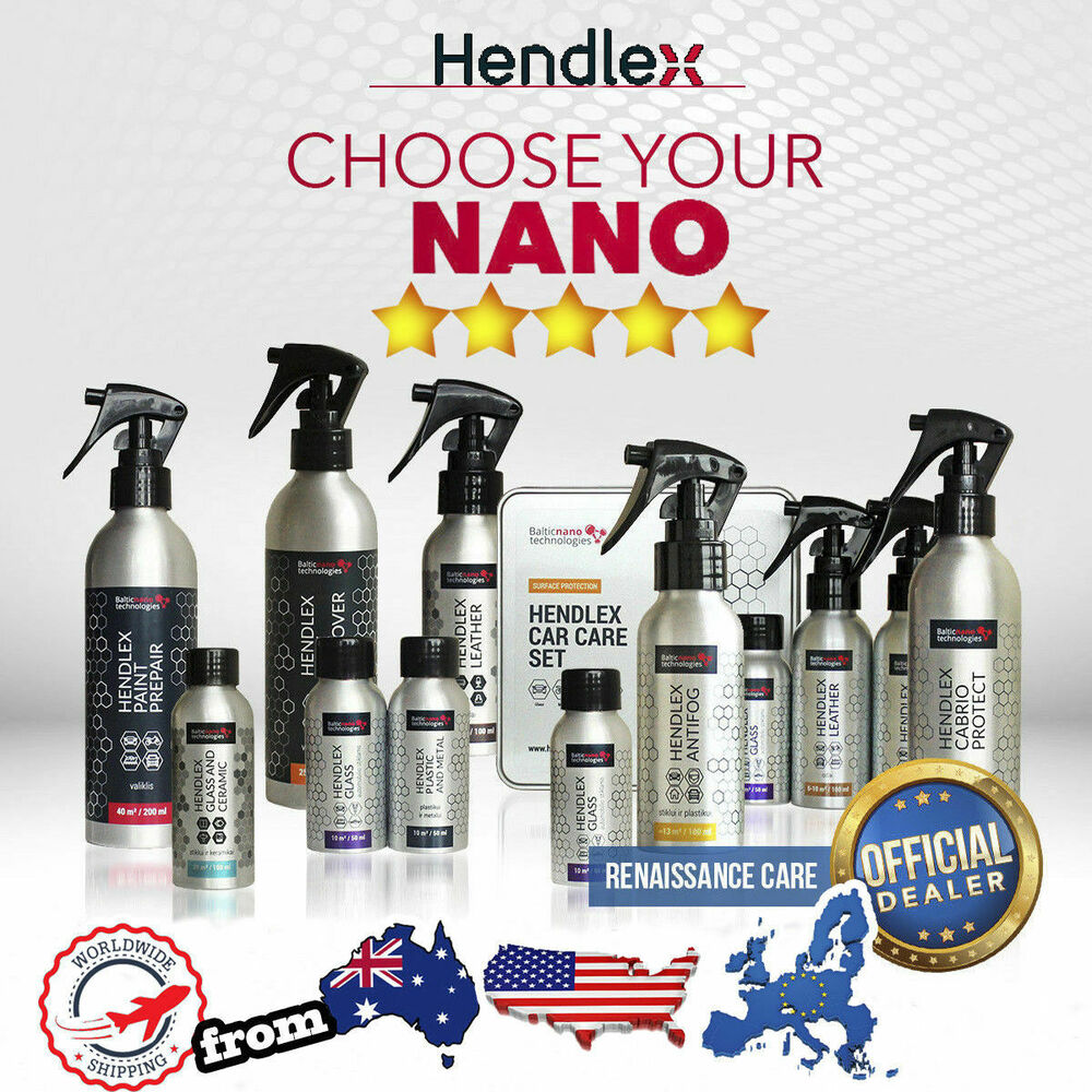 Hendlex Nano Coating 9h Car Paint Protection Ceramic Glass