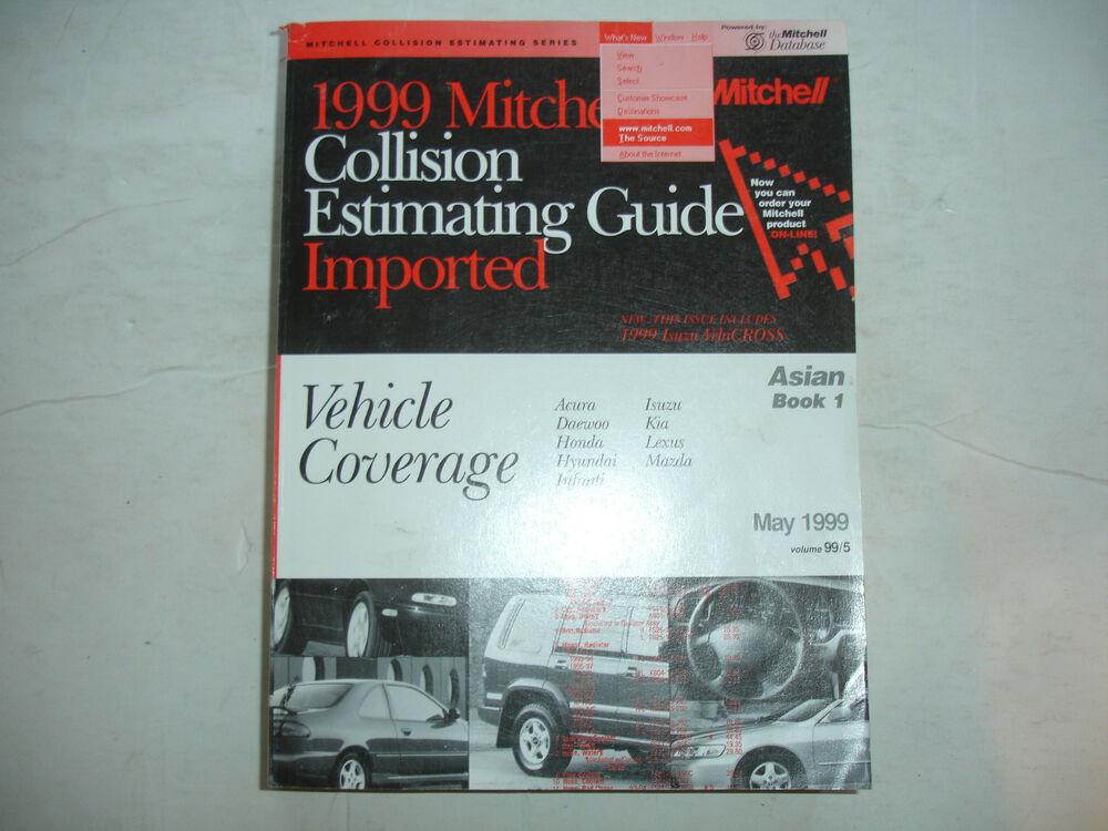 Mitchell estimating: manuals & literature | ebay.