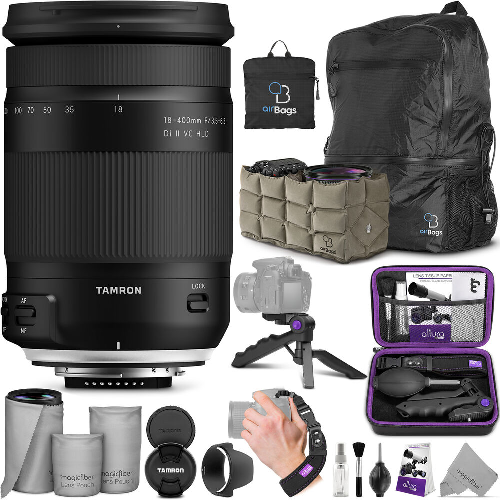 Tamron 18 400mm F 35 63 Di Ii Vc Hld Lens For Canon Ef With Af 270mm Pzd Accessories Bundle 841507108178 Ebay