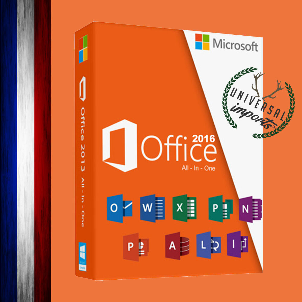 Microsoft office 2016 professionnel plus licence 1 pc office 2016 pro plus ebay - Cle office professionnel plus 2010 ...