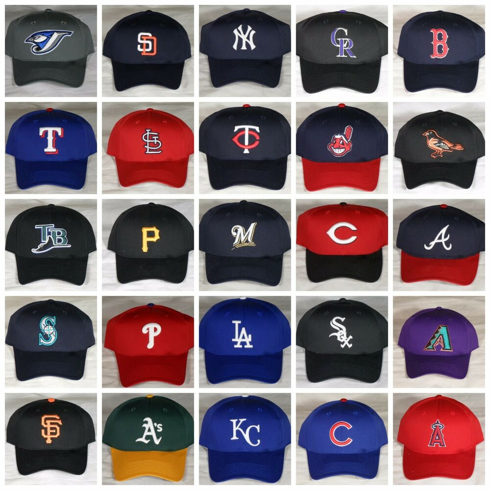 Details about New OC Sports MLB Adjustable Snapback Baseball Hat Cap Adult  S M Most Teams! 435ed400239