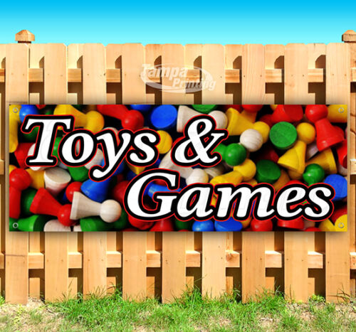 TOYS AND GAMES Advertising Vinyl Banner Flag Sign 15