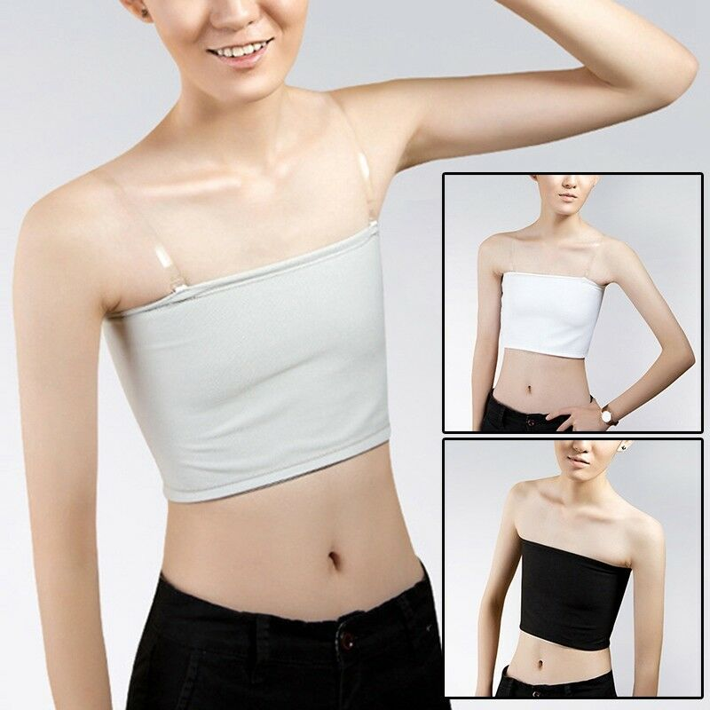 Newly Breast Binder Crop Top Chest Flat Cool Cosplay