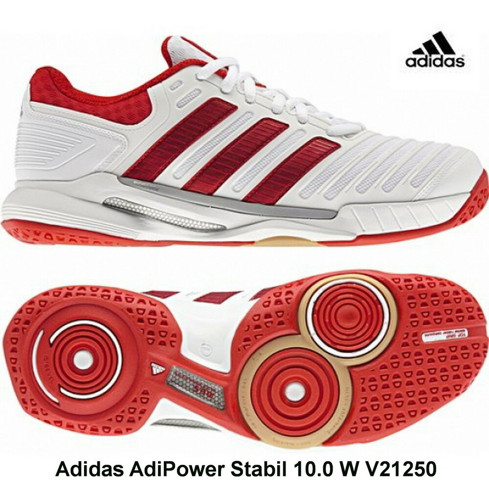 official photos c810e b2498 adidas Adipower Stabil 10.0 W Damen Handballschuhe V21250  e