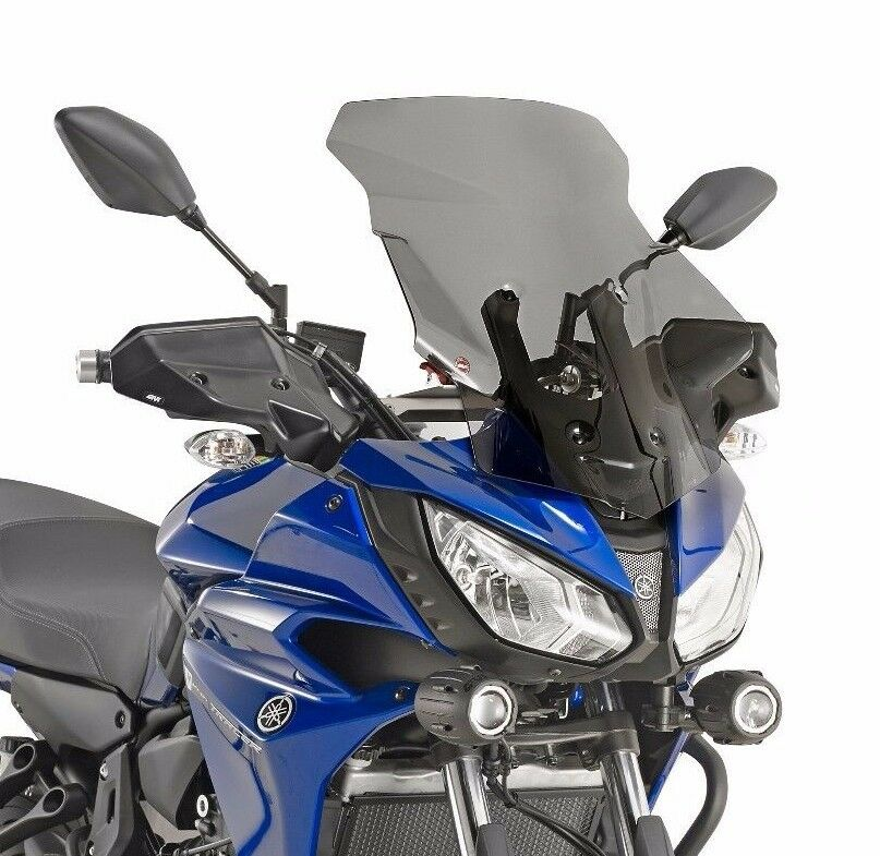 yamaha mt 07 tracer 2017 givi screen smoked 12 cm taller. Black Bedroom Furniture Sets. Home Design Ideas