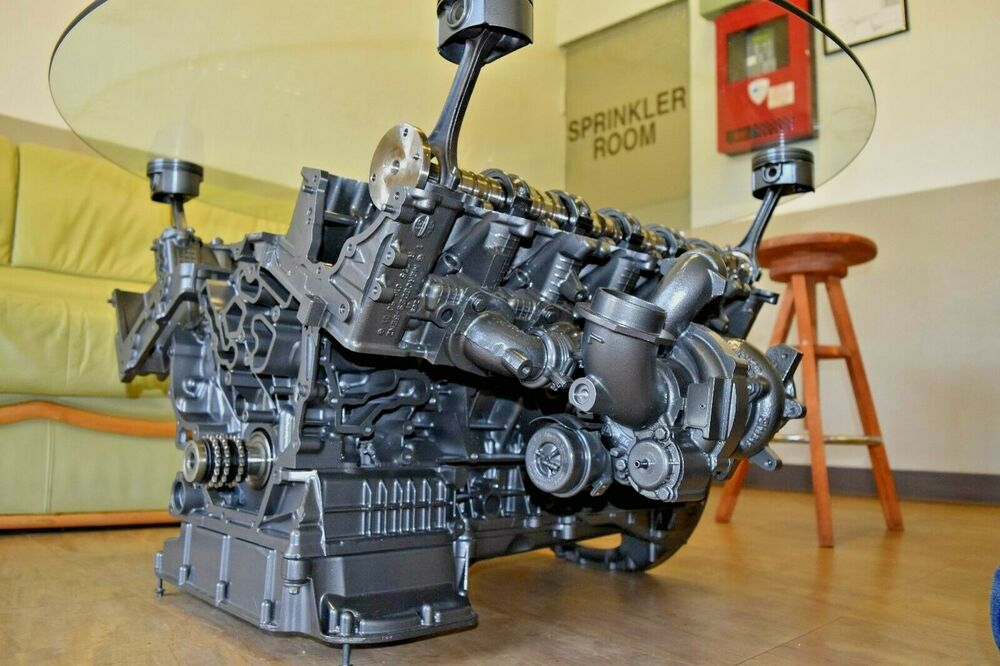 Mercedes Benz Amg V 12 Engine Coffe Table Ebay