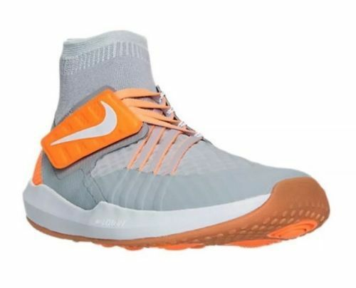 5acac781668d Details about Men s Nike Flylon Train Dynamic Training Shoes Grey   Orange  Sz 13 852926 003