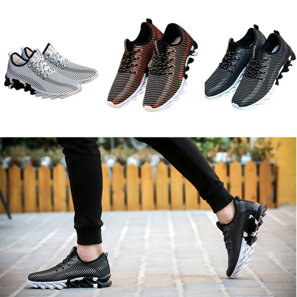 Homme Chaussures Sport Fitness Gym Course Baskets Maille Extérieur Respirable NF