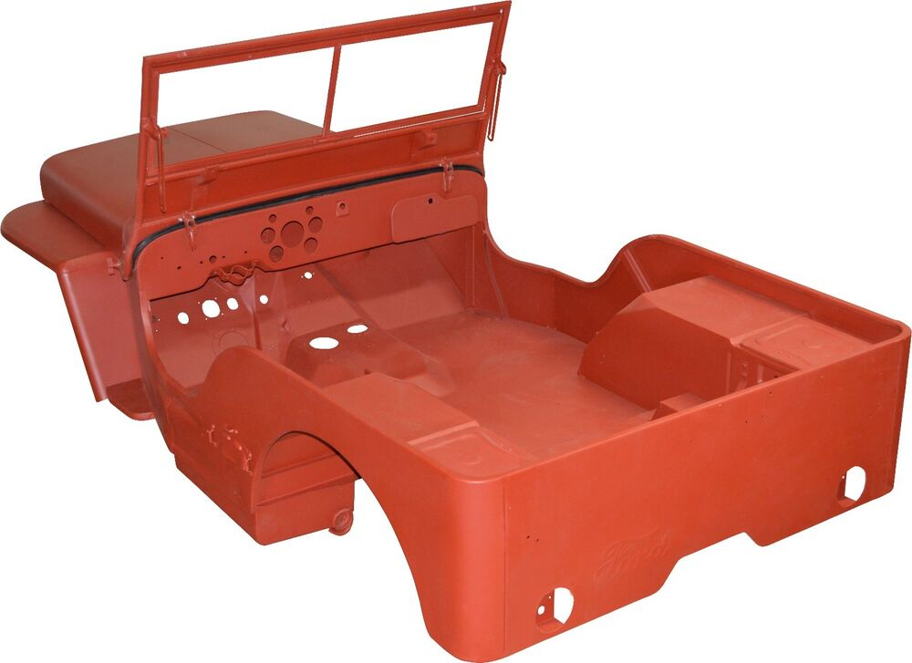 S L on Willys Truck Body Kits