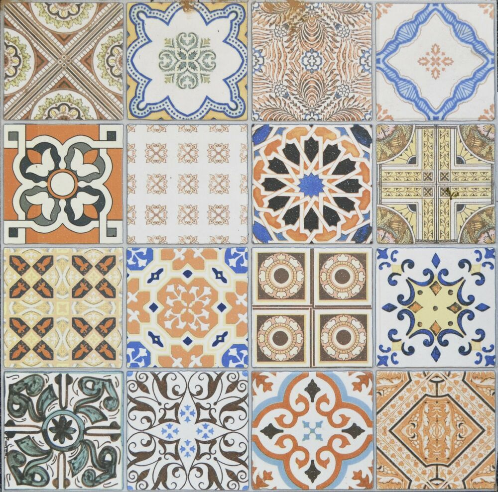 Porcelain Moroccan Style Floor Amp Wall Patchwork Tiles