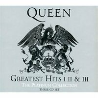 Queen - Greatest Hits (I II & III The Platinum Collection, 2011) 3 CD Set