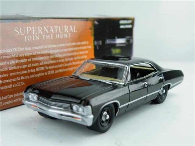 supernatural chevrolet impala model car 1 64 scale. Black Bedroom Furniture Sets. Home Design Ideas