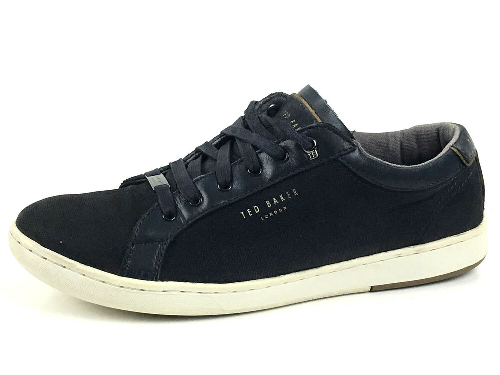 2a3244ed9 Details about Ted Baker Navy Mens Casual Sneakers Size US. 9 UK. 8 EU.42