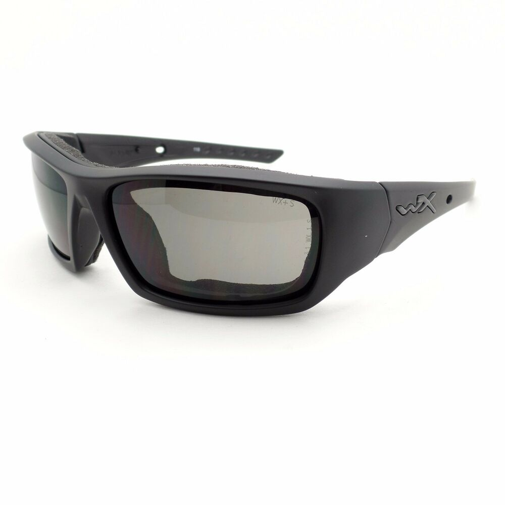 Details about Wiley X Arrow Matte Black Grey Sunglasses New CCARR01 rl 8fa6fbb066