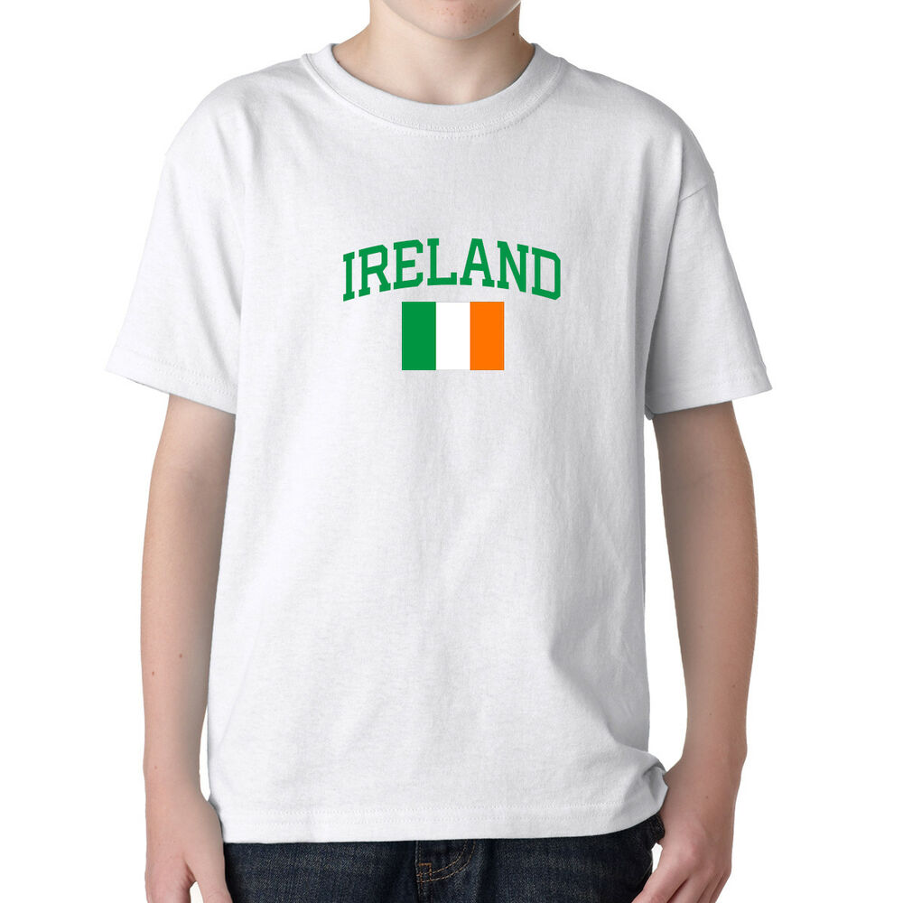 56e1b27f5 Ireland Irish Soccer Jersey T shirt Flag Pride World Cup Patriotic Sports  Soccer-National Teams Fan ...