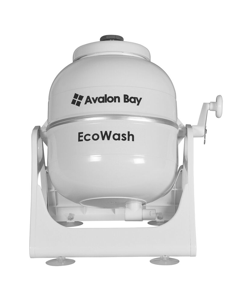 Ecowash Portable Hand Cranked Non Electric Washing Machine
