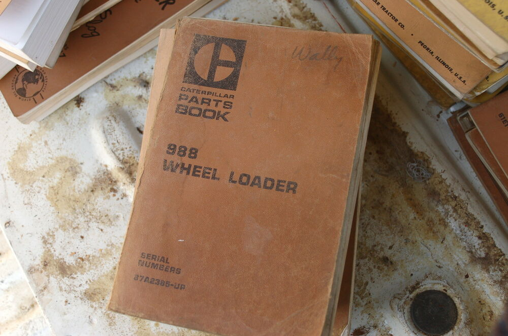 CAT Caterpillar 988 Wheel Loader Parts Manual Book list spare front end OEM 87A