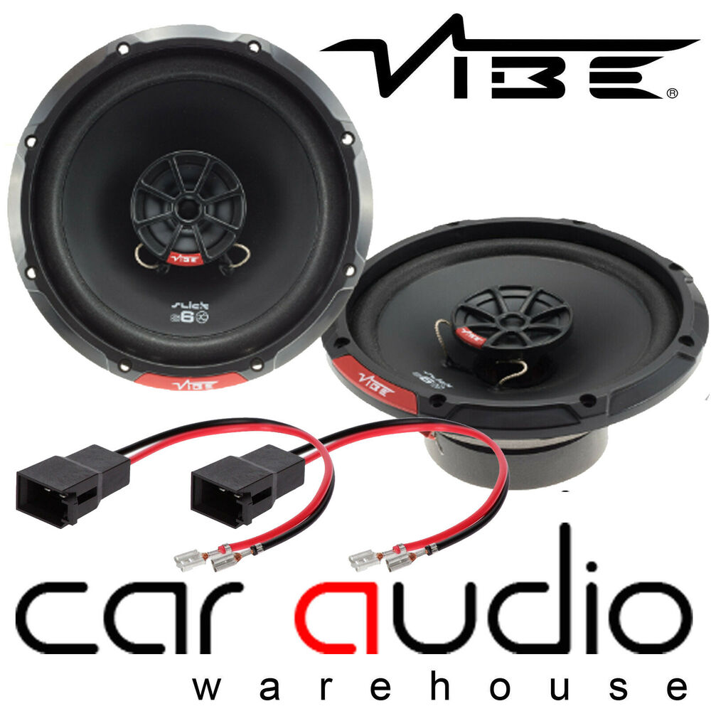 Renault Clio Mk2 Vibe 13cm 420 Watts Front Door Car Speakers Leads Slick 4 Gauge 2000w Amplifier Wiring Kit Amp Power Cable Wire Upgrade Ebay