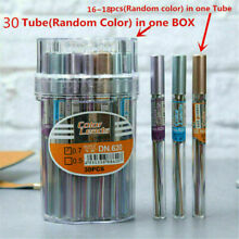 18pcs/Tube Automatic Mechanical Pencil Refill Color Lead School Stationery 0.7mm