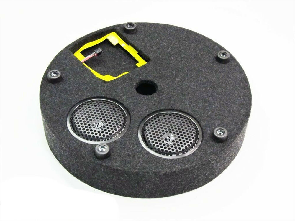 Vw Volkswagen Spare Tire Mount Subwoofer Soundbox Jetta