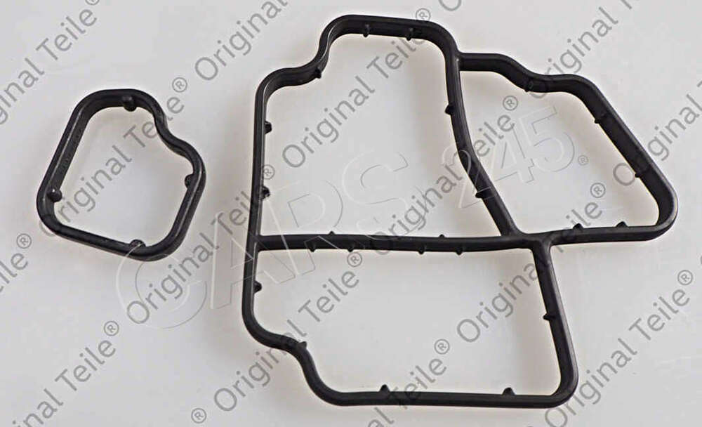 Genuine Gasket Set For Oil Filter Holder Audi Vw 03l198441