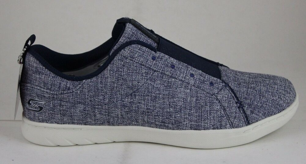 Skechers Women's Millennial Take Note Navy 23541/NVY Air Cooled Memory Foam New