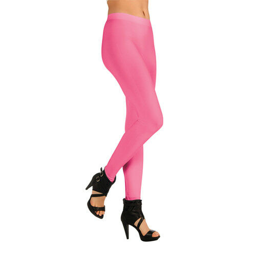 Womens Pink Colored Leggings Halloween Accessories