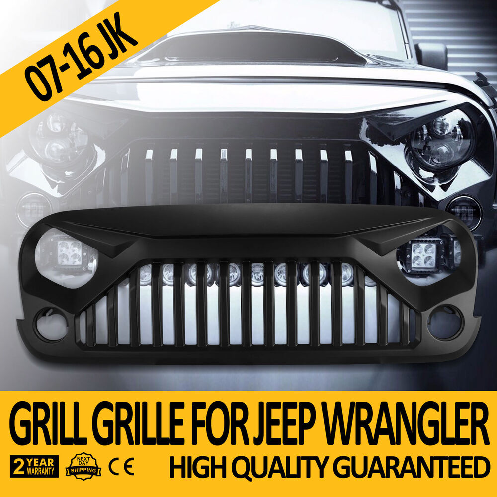 Upgrade Angry Bird Front Grill Grille Fits Jeep Wrangler