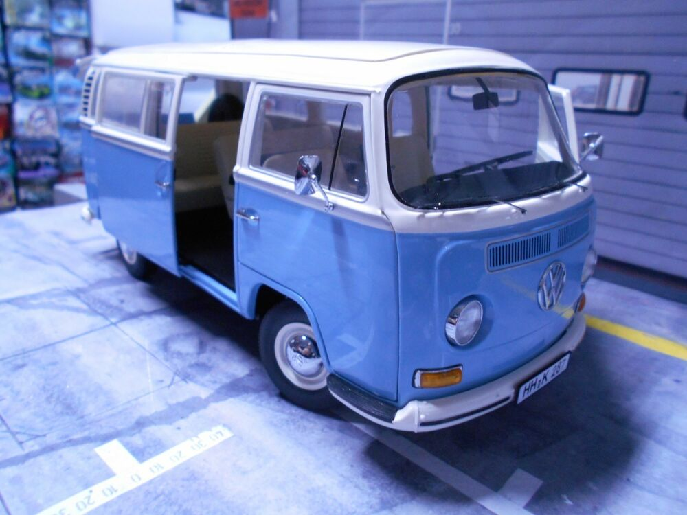volkswagen vw t2a t2 a bus bulli 1967 1970 blue blau. Black Bedroom Furniture Sets. Home Design Ideas