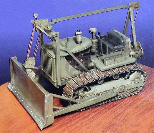 Construction Battalion 1/35 US M1 Bulldozer Caterpillar D7