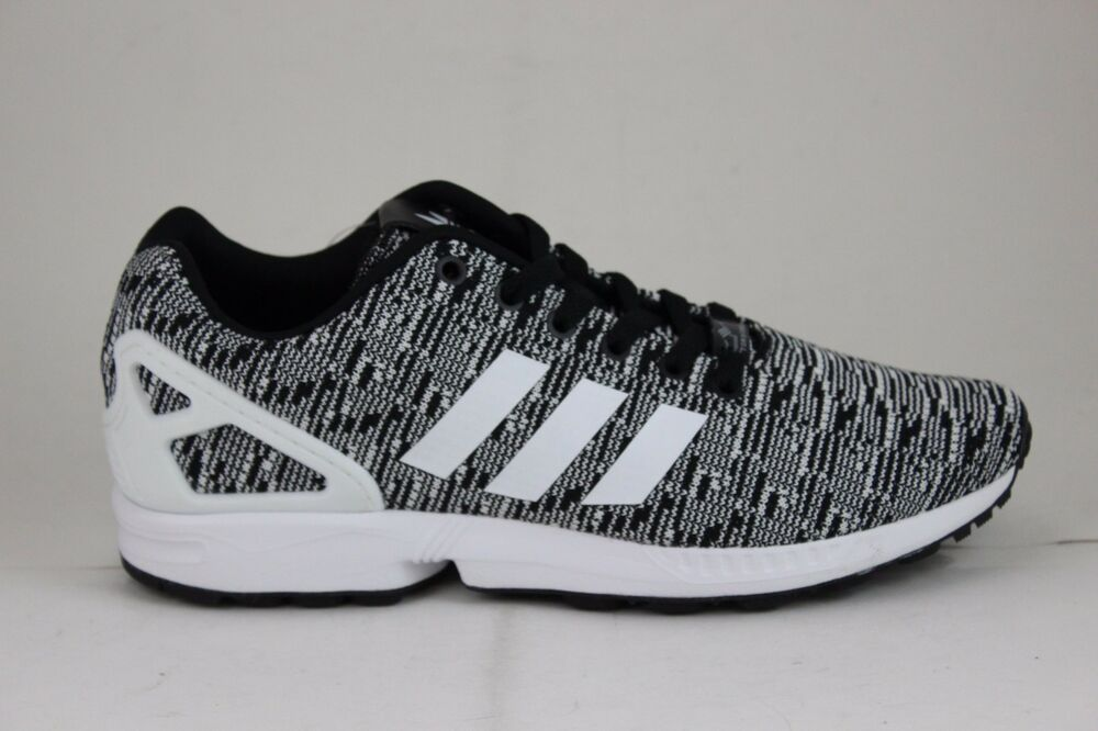 7561a0d3b61 Details about Adidas ZX Flux Black White White BB2166 Brand New in Box!!!
