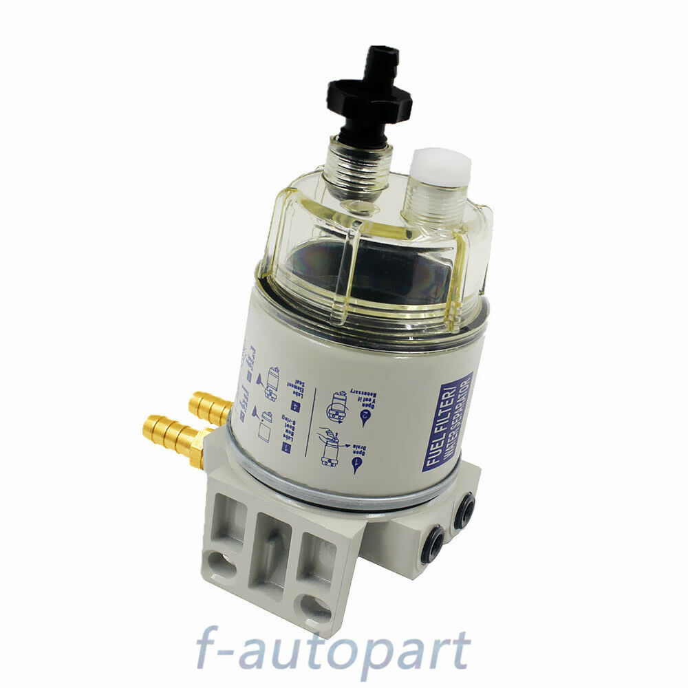 New Fit For Racor R12t Marine Spin On Fuel Filter Water Separator 120at