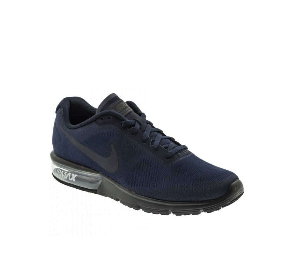 a37fc9ab10 NIKE AIR MAX SEQUENT MENS RUNNING TRAINER SHOE OBSIDIAN BLACK SIZE 8.5 - 11  NEW   eBay