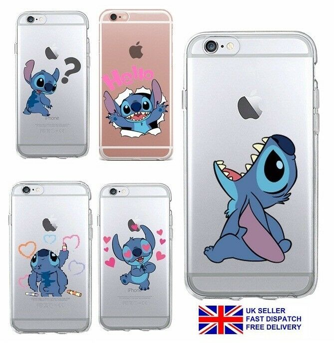 Disney Lilo and Stitch Phone Case Cover Soft TPU iPhone 6 ...