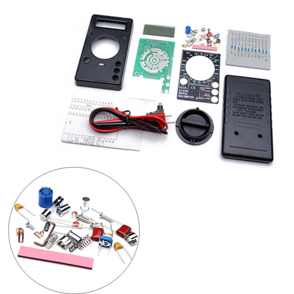 Dt830b Diy Digital Analog Multimeters Electronic Learning Kit