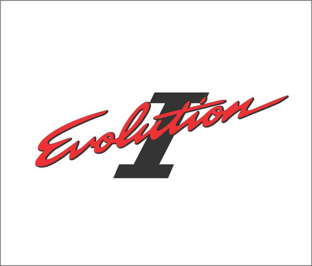 Details about 92 93 mitsubishi lancer evo 1 cd9a rear trunk decal sticker 4g63t jdm evolution