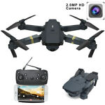 Cooligg 2MP 720P Camera WIFI FPV Foldable Drone 2.4G 6-Axis RC Quadcopter Toys