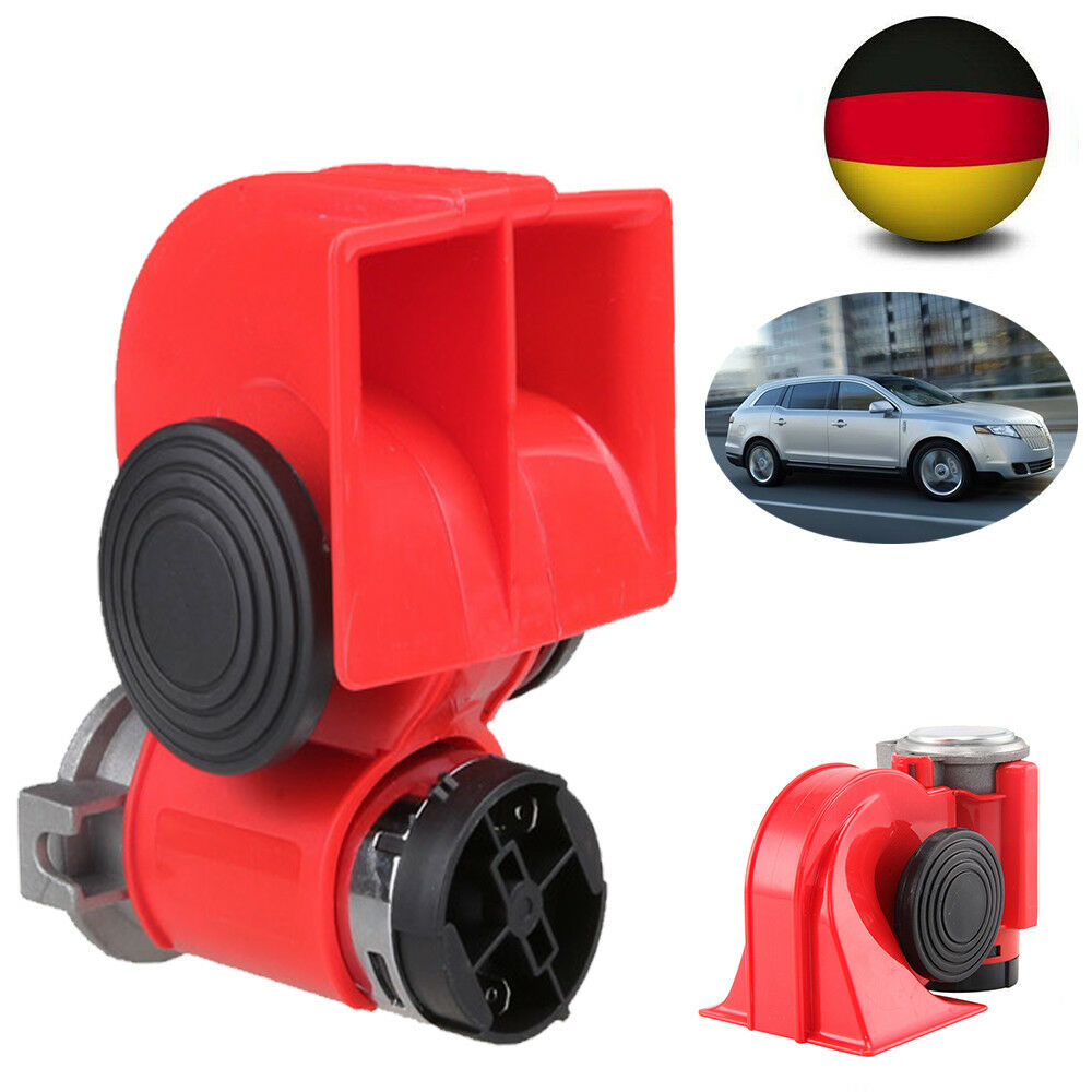 12v 139db druckluft horn fanfare hupe 2 klang f r pkw auto mit kompressor bg 03 ebay. Black Bedroom Furniture Sets. Home Design Ideas