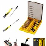 45 In 1 Precision Torx Screwdriver Bit set Hex Star Tweezer Repair Mini Tool Kit