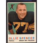 1959 Topps #129 Ollie Spencer RC - EX-MT *089-328