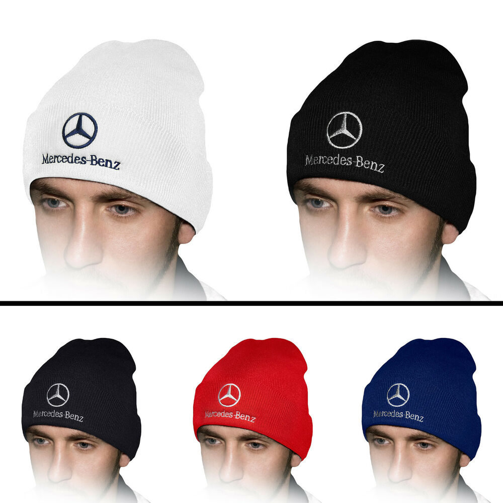 Details about Mercedes Benz Beanie Hat Embroidered Auto Logo Winter  Baseball Cap Mens Womens 969d141b4ff