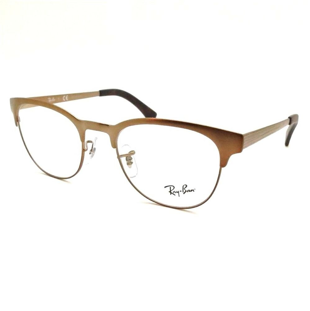 b89b42648a Details about Ray Ban RB 6317 2836 Matte Brown RX Frames New Authentic rl
