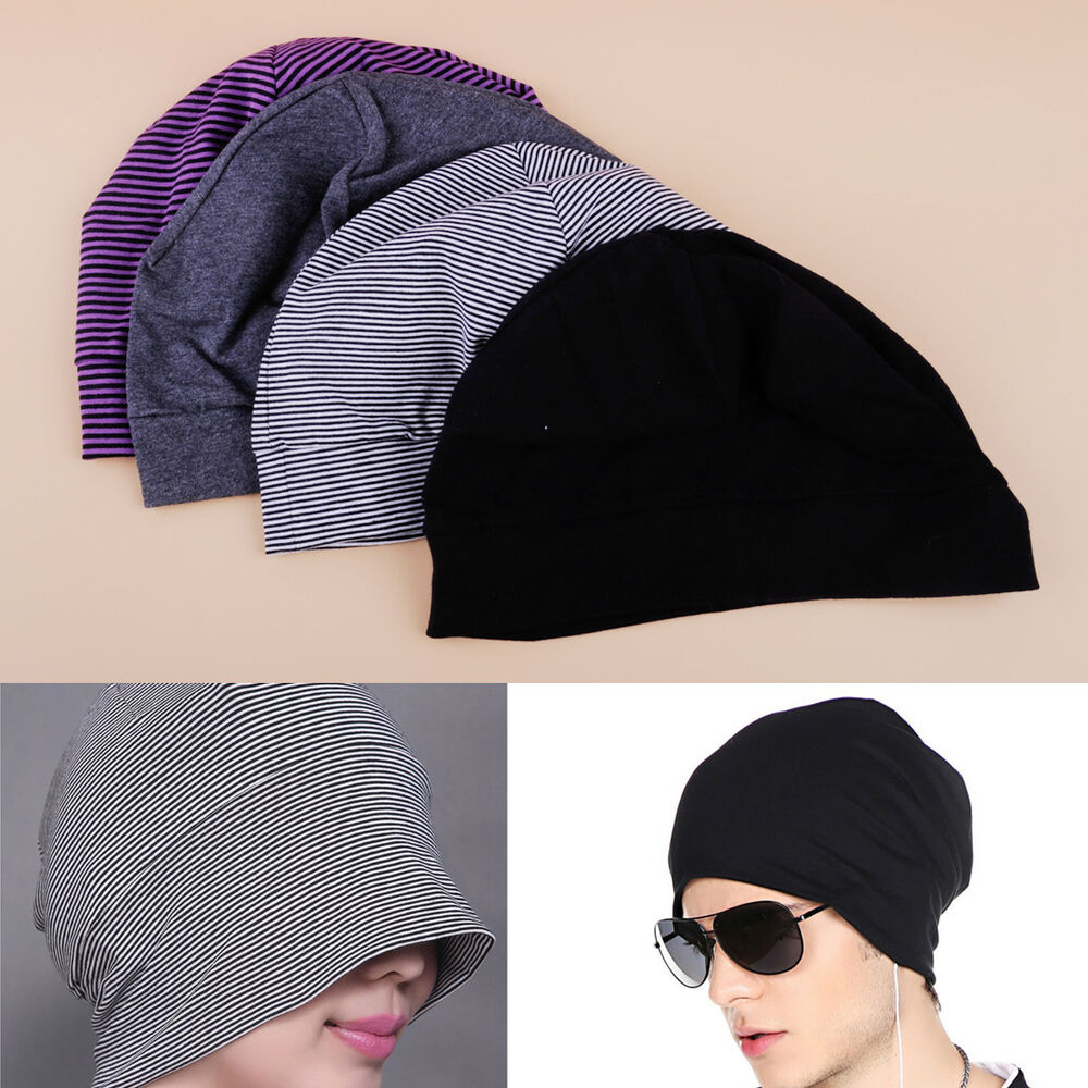 Details about Adults Unisex Cotton Night Cap Sleeping Hat Patch Sleep Caps